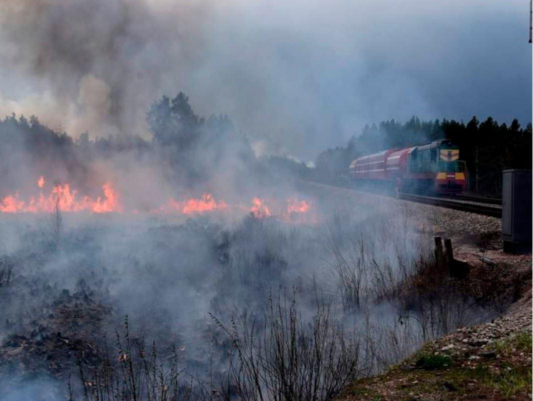 пожар Киевская область