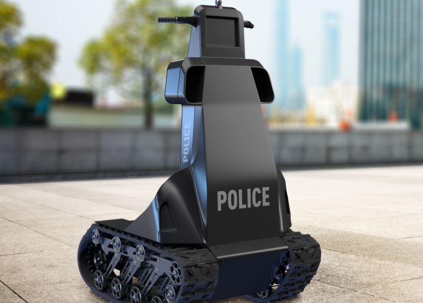 робот- полицейский