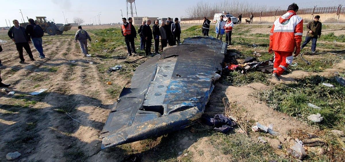 Сбитый самолёт МАУ