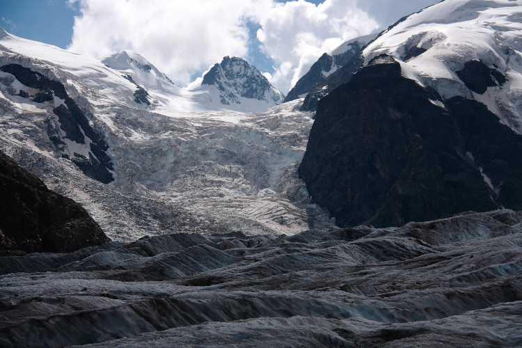 В ледниках Альп нашли следы чернобыльской катастрофы
