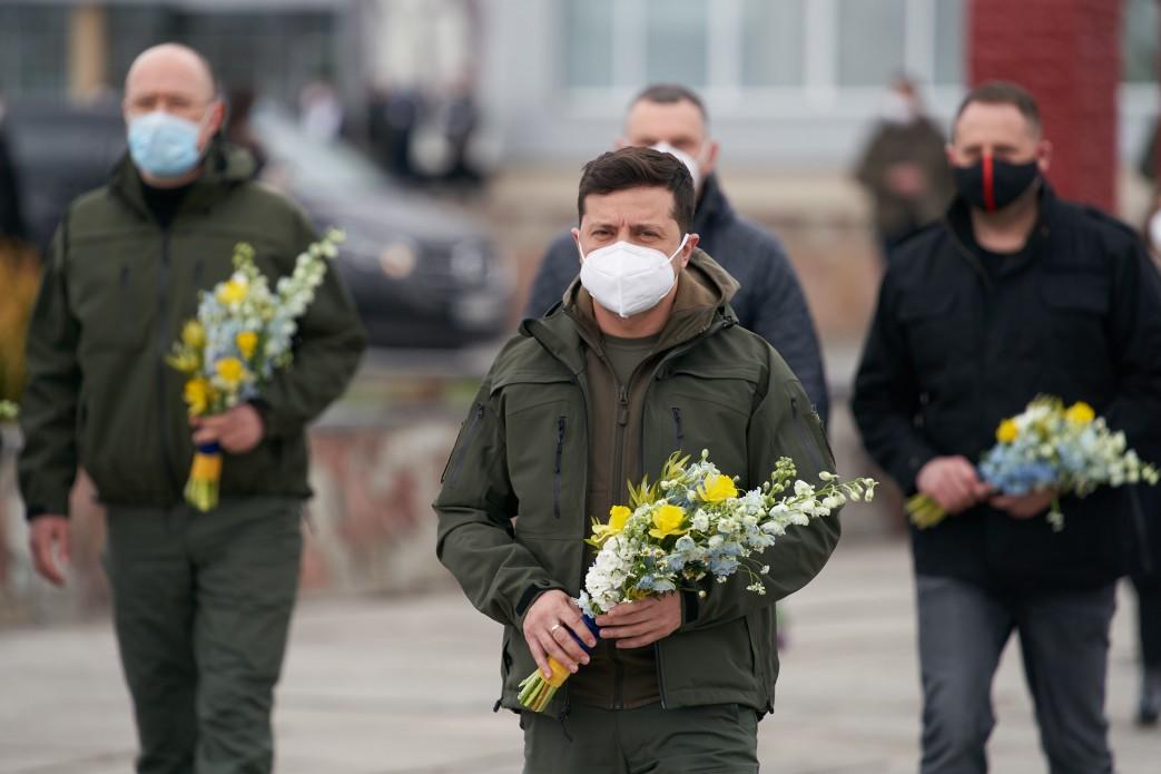 Зеленский в Чернобыле.