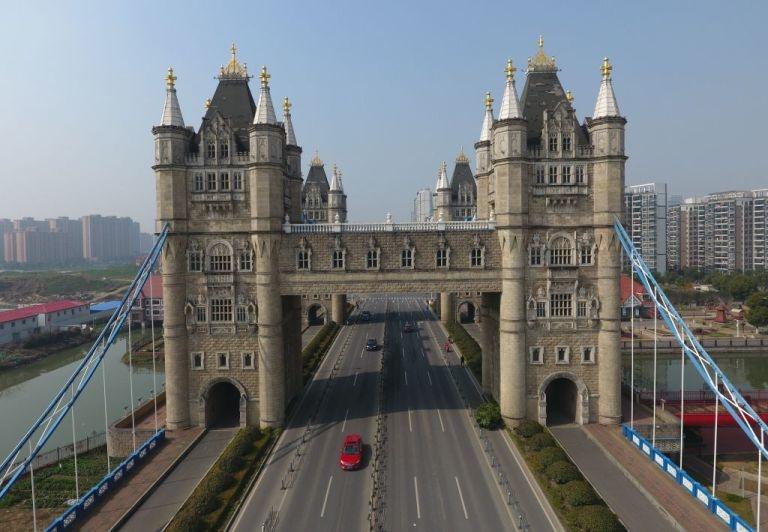 Тауэрский мост в Китае