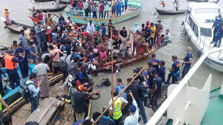 Бангладеш авария на реке