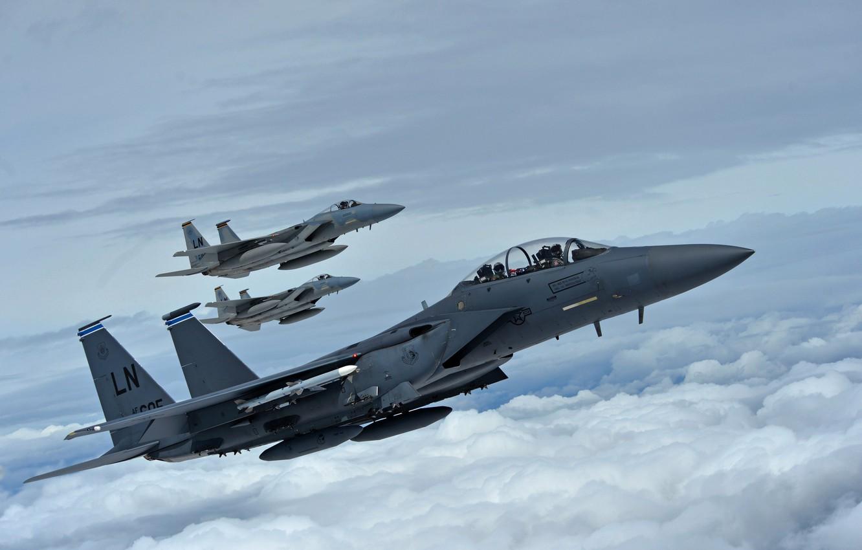 истребитель F-15C Eagle