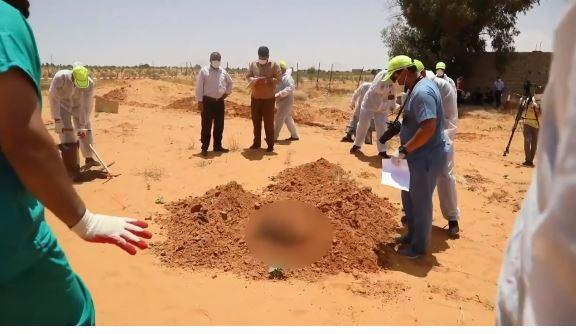 Ливия трупы