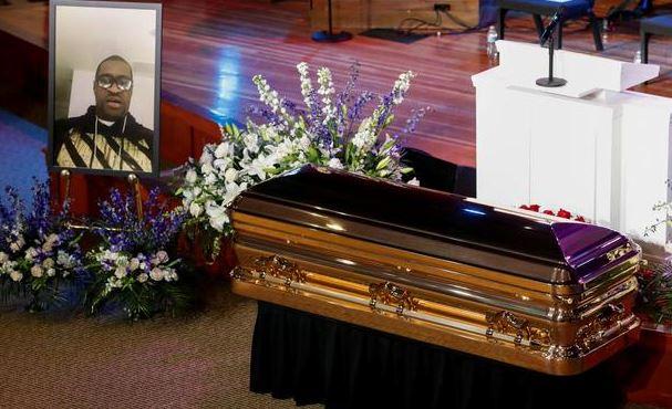 похороны Флойда