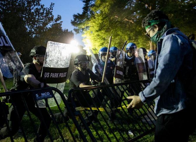 Антирасистские протесты охватили США и Европу