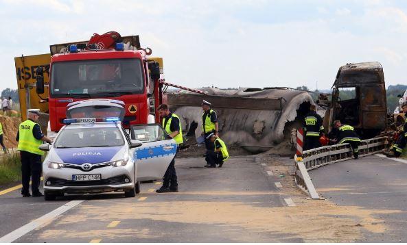 авария в Польше