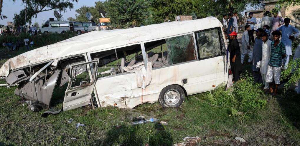 автобус Пакистан