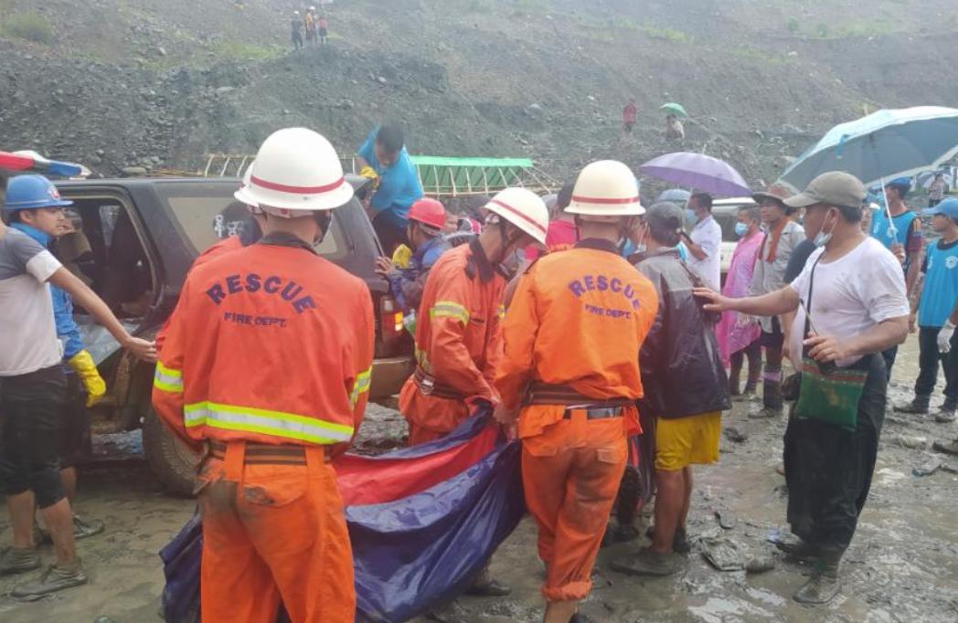 Обрушение шахты в Мьянме: под землёй оказались 200 человек