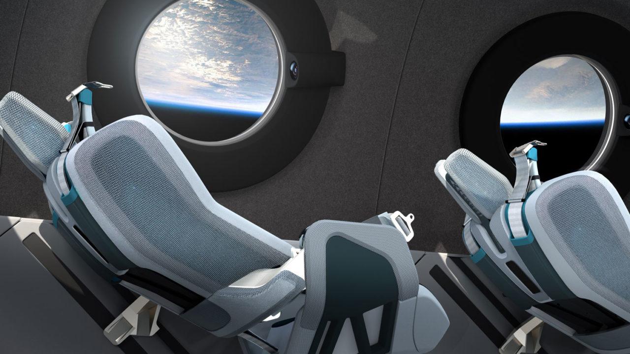 пассажирские места в космолёте