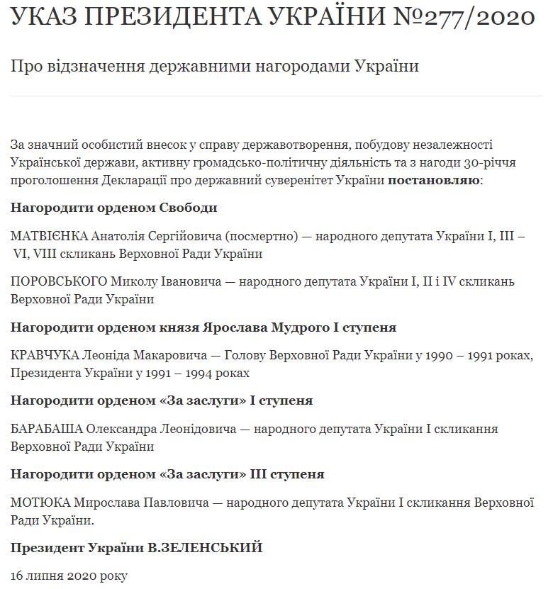 указ Зеленского