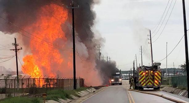 взрыв Техас