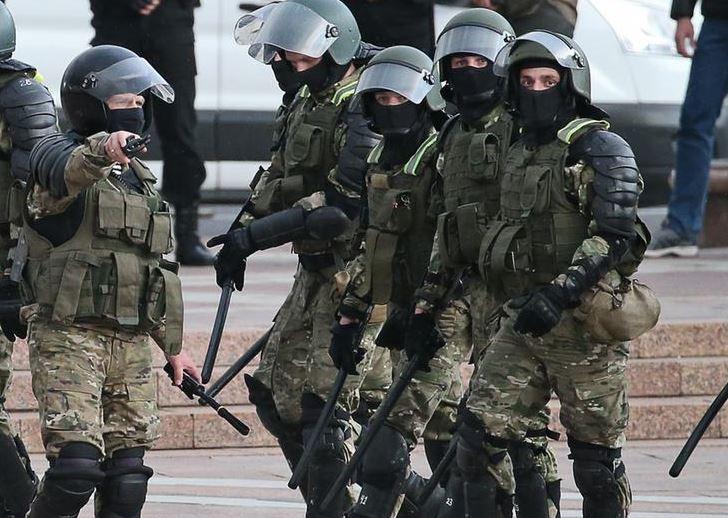 Беларусь омон