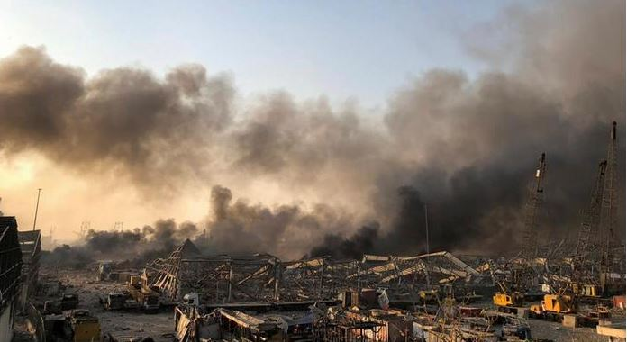 Власти Ливана знали про запасы селитры, грозящие взрывом в порту