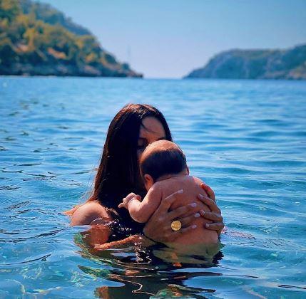 Джамала с малышом