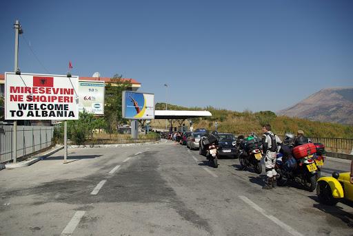 Граница Албании
