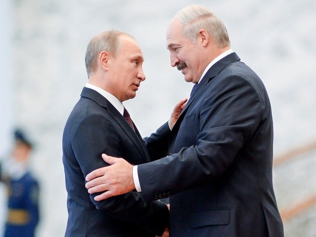 Лукашенко Путин.