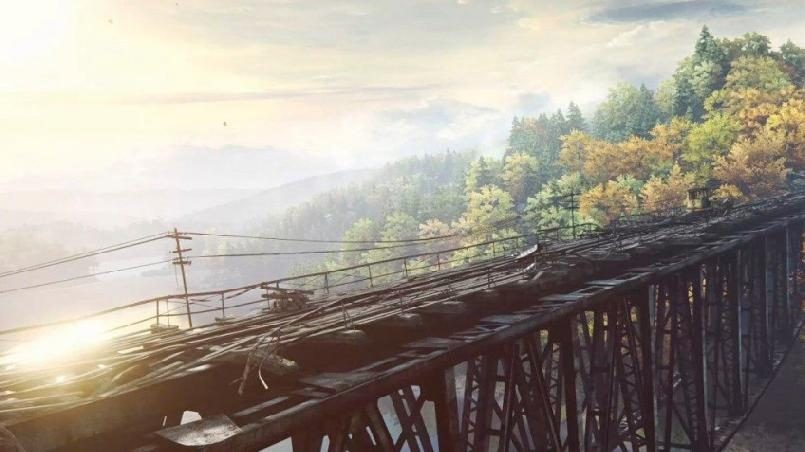 мост в Польше