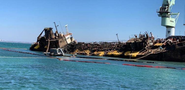 подъём танкера
