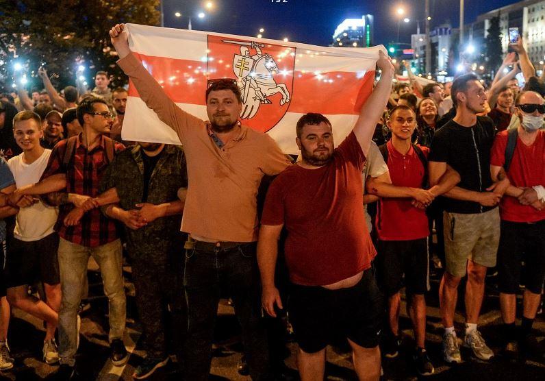 В Беларуси продолжается общенациональная акция протеста