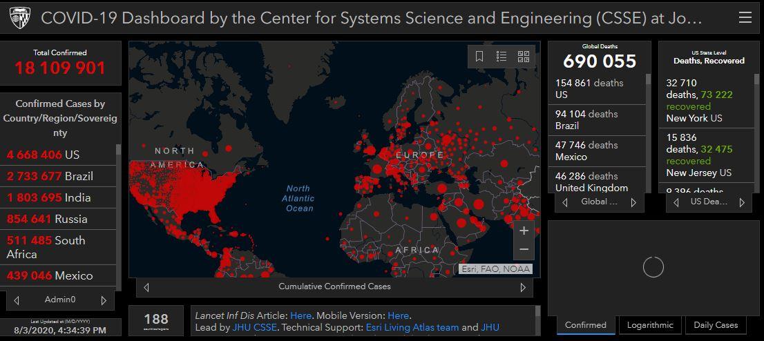 COVID-19 в мире: в США заявляют о новой фазе заболеваемости