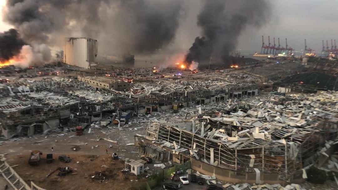 трагедия в Бейруте
