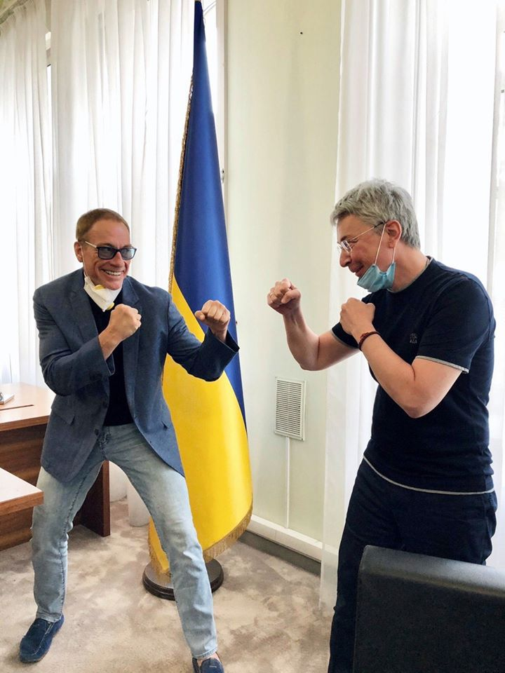 Ван Дамм и Ткаченко