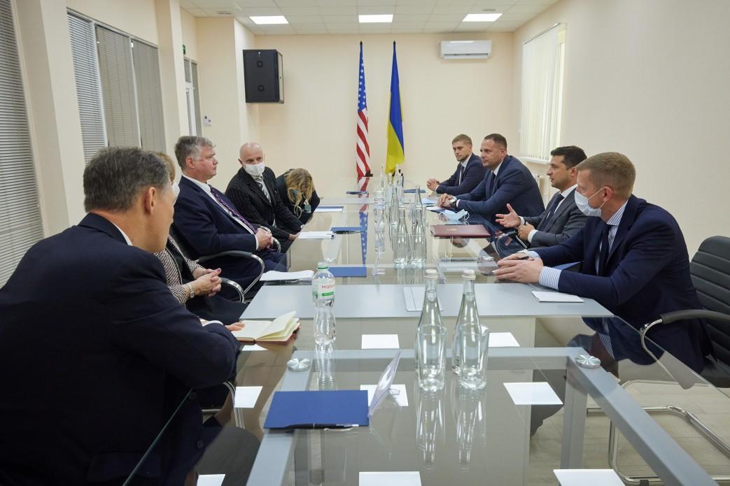 Встреча Зеленского с представителем США