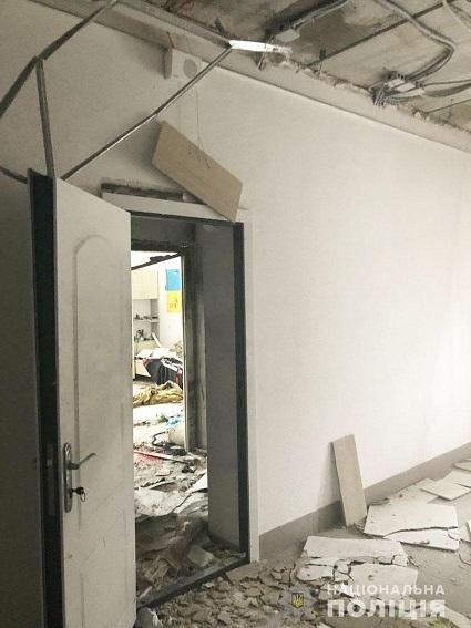 взрыв в Десне в общежитии