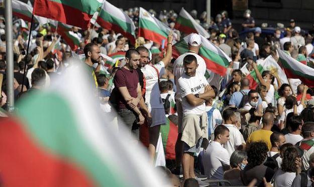 Болгария протесты