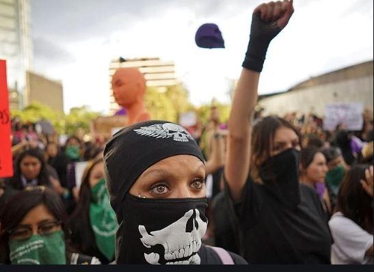 Женский бунт в Мексике