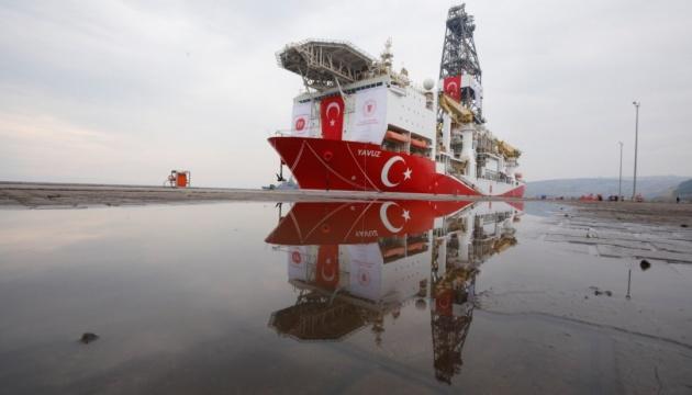 корабли турции в Средиземном море