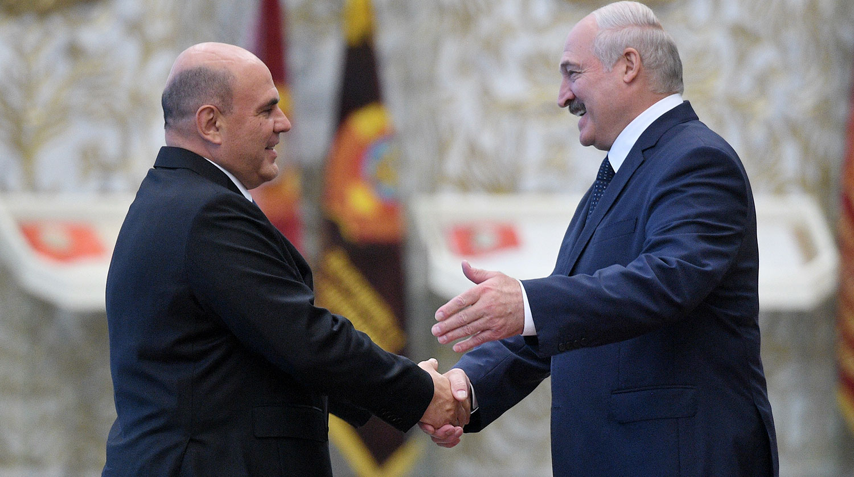Лукашенко с Мишустиным