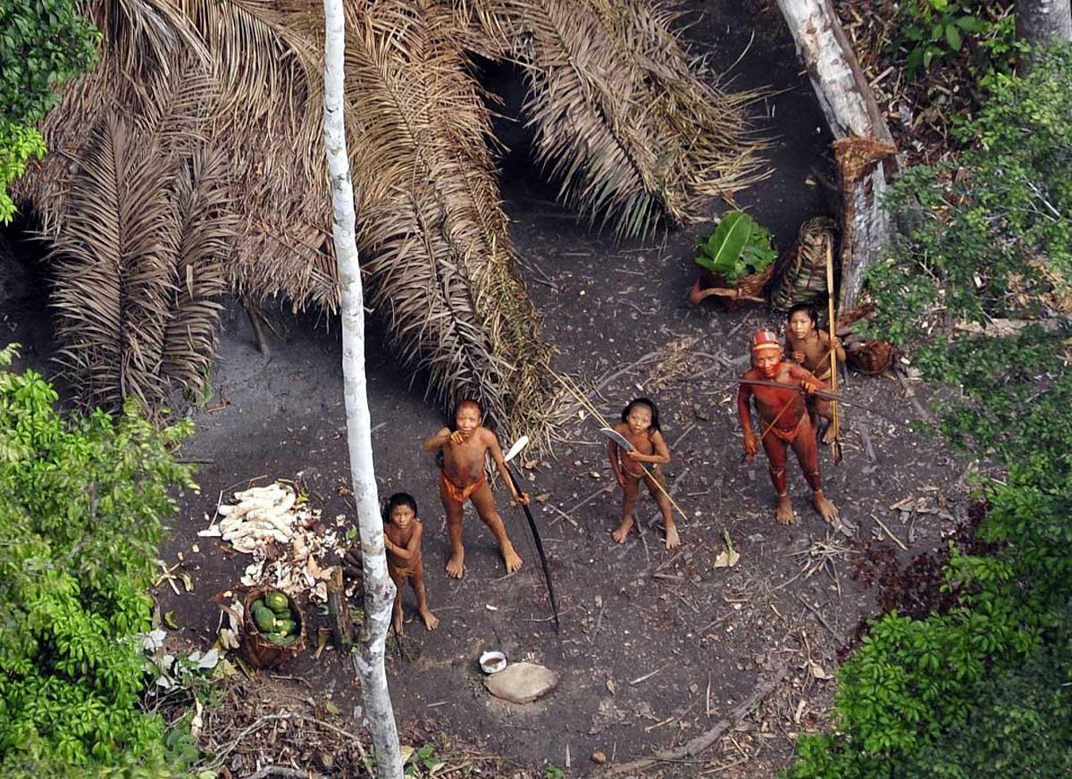 племена Адаманских островов