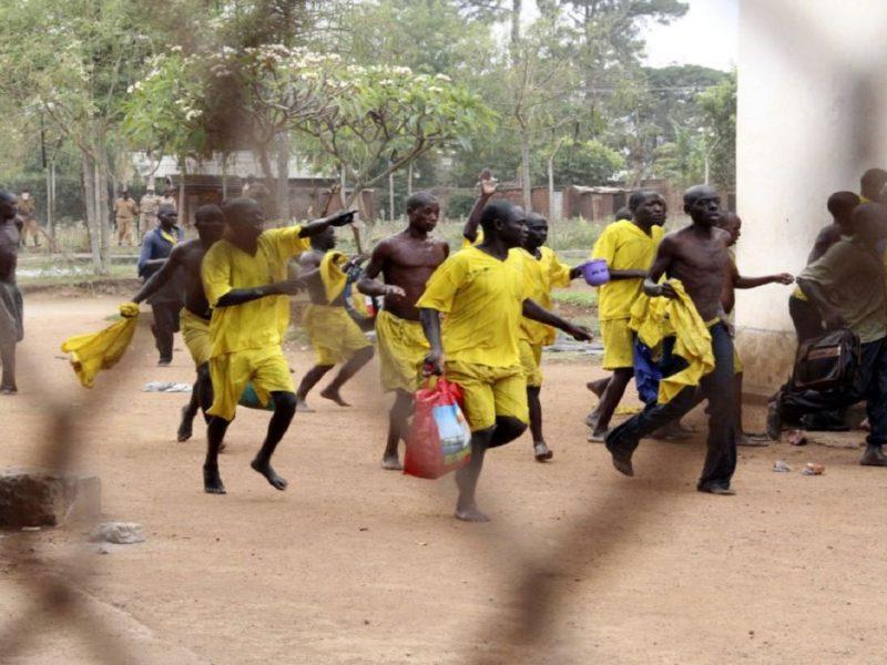 побег из тюрьмы в Уганде