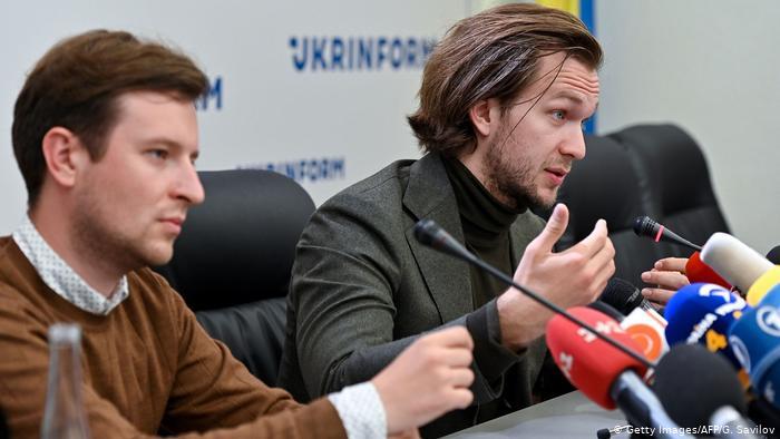 Родненков и Кравцов.
