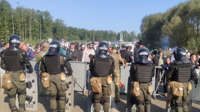 Ситуация на границе с Беларусью