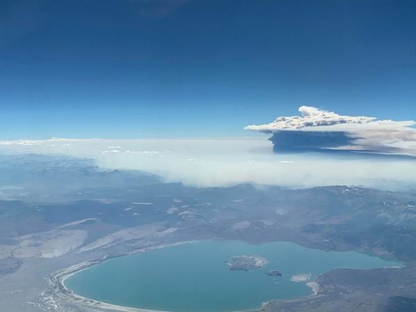 вулканические тучи
