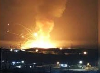 взрыв в Иордании