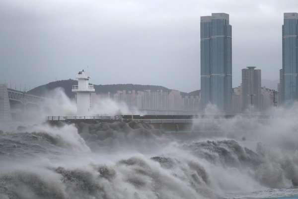 Южная Корея ураган
