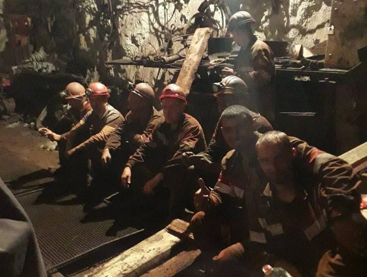 забастовка шахтёров