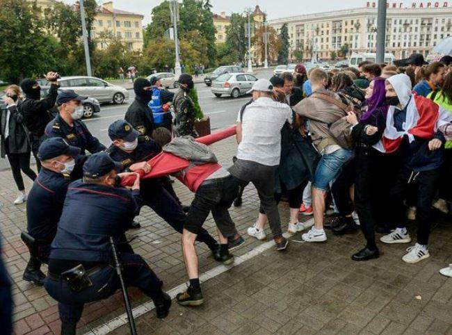 Задержание студентов Беларусь