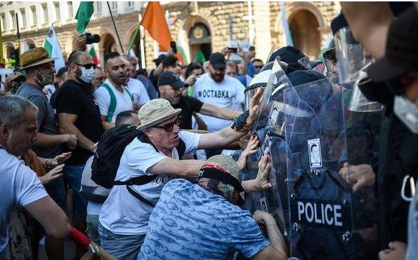 задержания в Болгарии