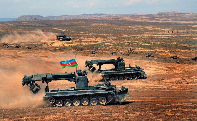 бои в Нагорном Карабахе.