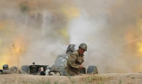 Бои за Нагорный Карабах.
