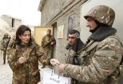 Жена премьер-министра Армении