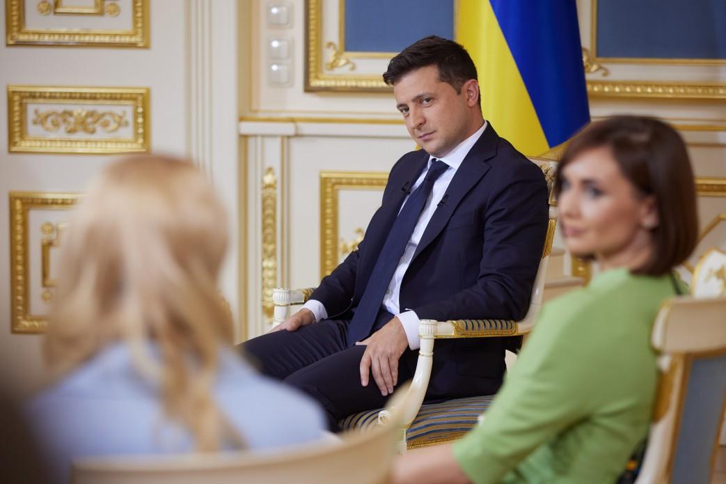 Новое интервью Владимира Зеленского: главные мэсседжи