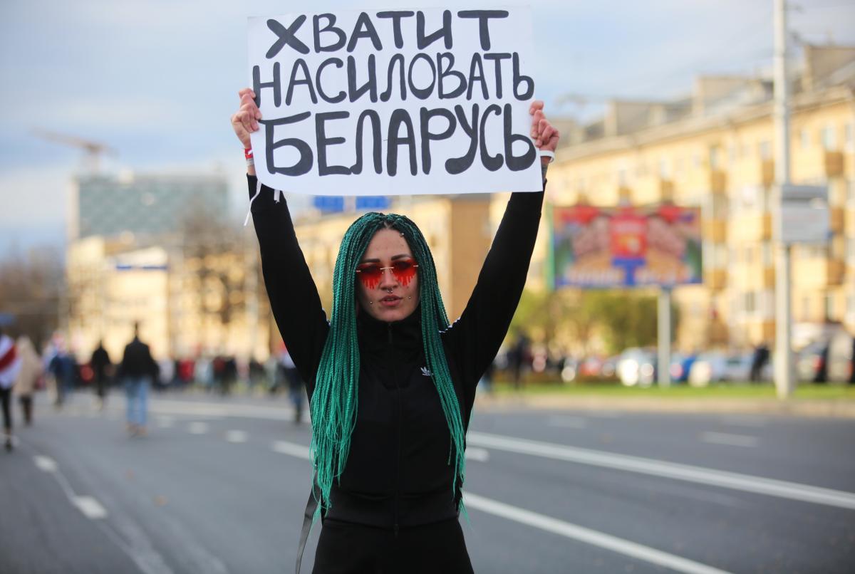 Митинг-ультиматум в Беларучи