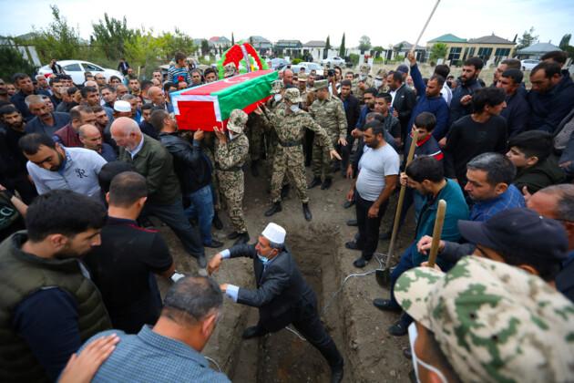 Нагорный Карабах похороны